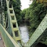 Brücke über den alten Ruhrarm in Essen Steele
