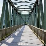 Alte Eisenbahnbrücke über die Ruhr am Baldeneysee