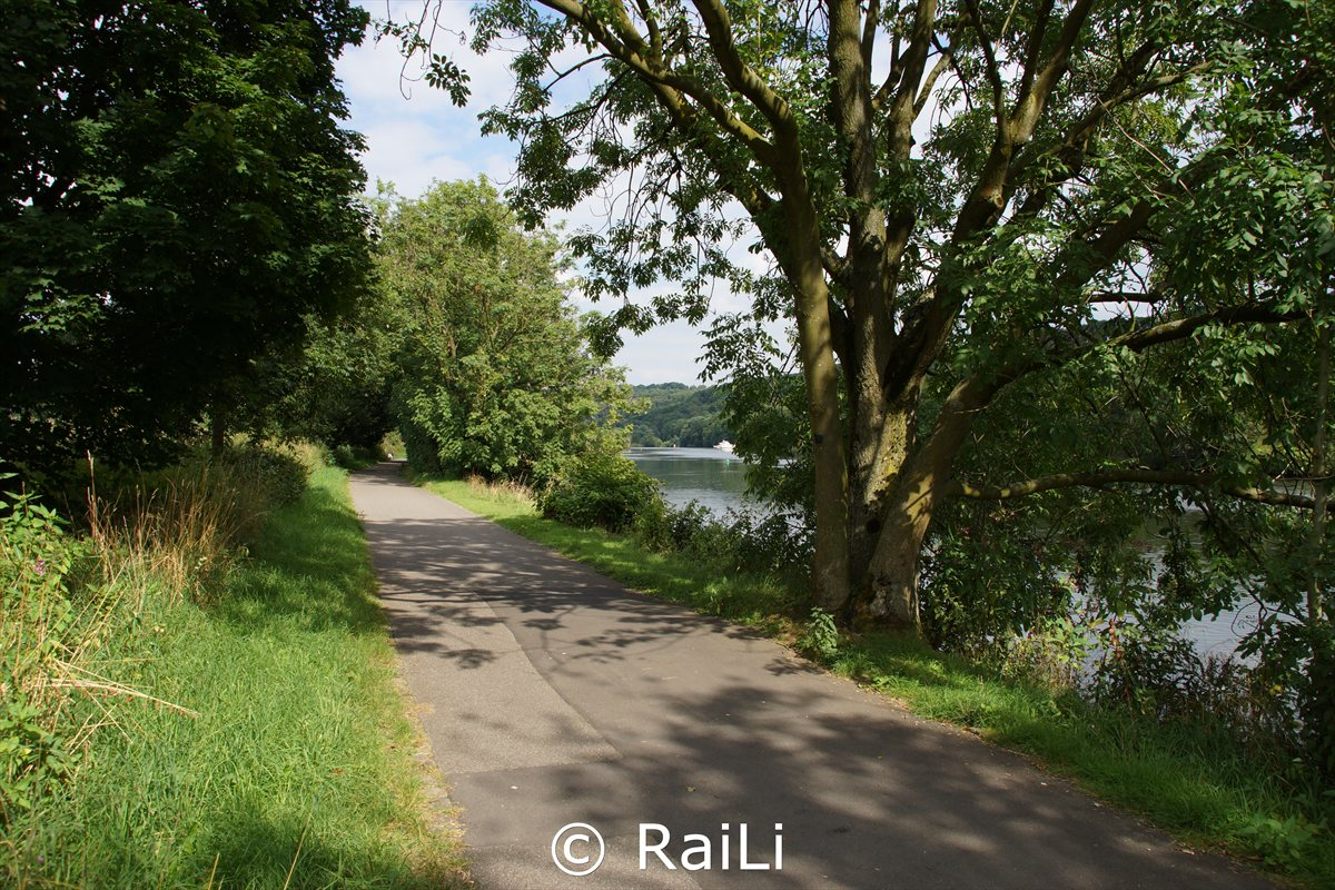 Ruhrtalradweg bei Kettwig