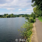 Ruhrtalradweg bei Mülheim