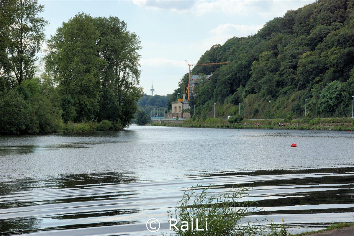 Blick von Mülheim richtung Wasserbahnhof