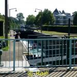 Schleuse am Wasserbahnhof