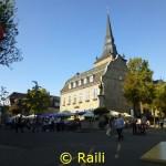 Marktplkatz Ratingen mit ehemaligem Rathaus