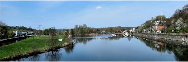 Die Ruhr bei Dahlhausen